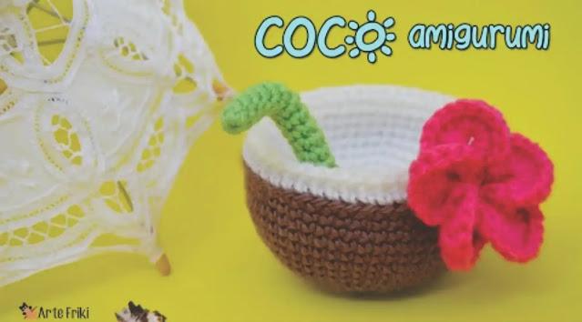 Tutorial Coco Amigurumi a Crochet - Para decorar fiestas temáticas