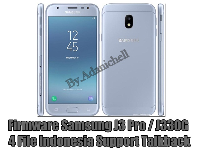 Firmware Samsung J3 Pro / J330G 4 File Indonesia Support Talkback Tested