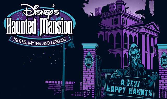 The Haunted Mansion of Disney #infographic