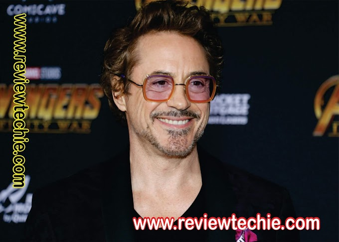 What is the monthly income & biography of Robert Downey Jr?