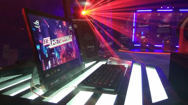 Laptop gaming ASUS ROG Mothership,  desktop replacement powerful  seharga Rp.130.999.000 ini memiliki performa super kencang  buat para gamer, diperkenalkan ASUS pada Kamis 11 Juli 2019 (dok.windhu)