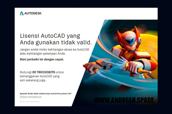 autodesk license invalid autocad 2020