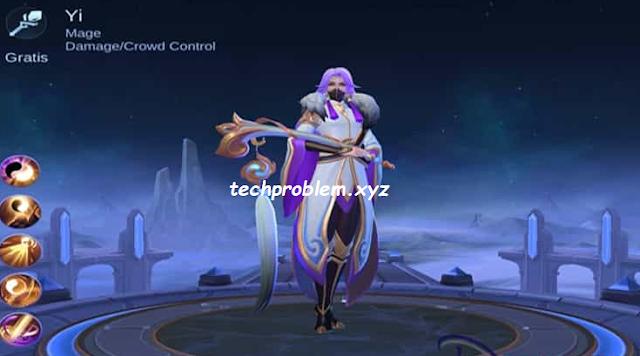 New Hero Yi, Penjelasan Skill dan Tanggal Rilis di Global Server Mobile Legends