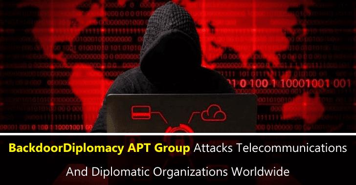 BackdoorDiplomacy APT Group Attacks Telecommunications & Organizations Worldwide