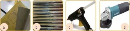 . Alat pembuatan kerajinan cangkang kerang;