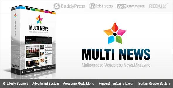 Multinews Multi-Purpose Premium WordPress Theme