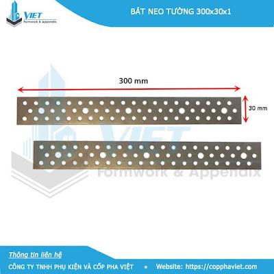 Bát neo 250 được làm từ tôn nhũ có kích thước 250x30x1mm