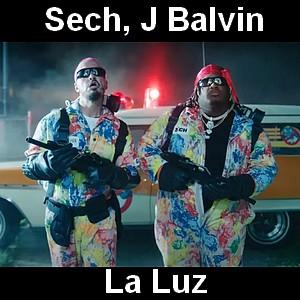 Sech, J Balvin - La Luz
