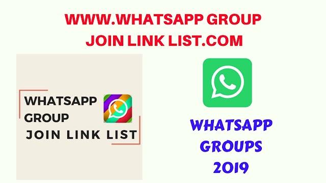 WhatsApp Groups 2019