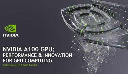 Chip nvidia GPU A100