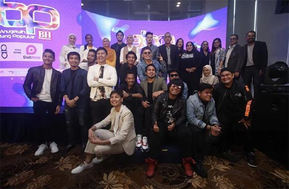 Senarai Top 5 Anugerah Bintang Popular Berita Harian ABPBH 32