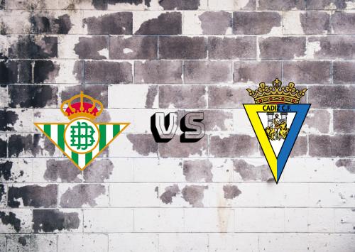 Real Betis vs Cádiz  Resumen