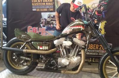 Harley Davidson Sportster Rasa Militer