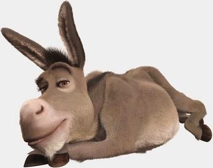 """Esta un señor con su hijita en el coche, y pasan al lado de un burro con su """"manguera"""" afuera:  - Ay, papi, que le pasa a ese burro que tiene esa """"cosa"""" colgando afuera?"""