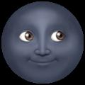 Arti Emoji Bulan Gosong (Apple)