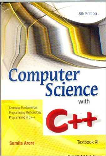 Download Free C++ book by Sumita Arora PDF | JobsFundaz