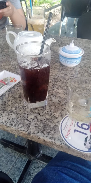 Quán cafe Ngon Sa Đéc cafe đá 12000/ly