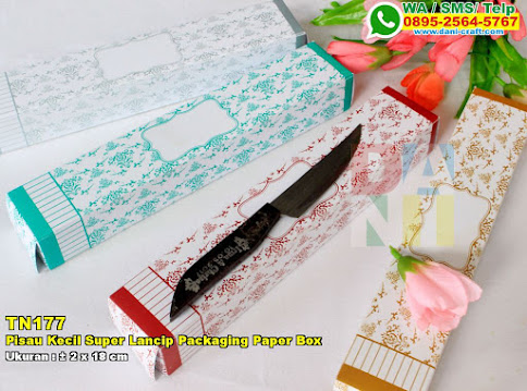 Pisau Kecil Super Lancip Packaging Paper Box
