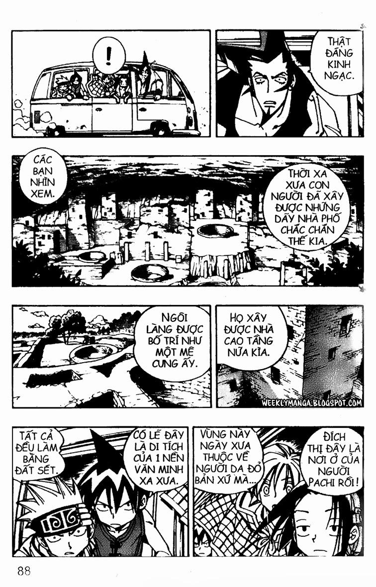 Shaman King [Vua pháp thuật] chap 95 trang 6