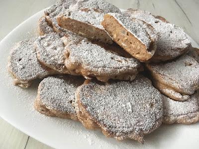 Placuszki z mąki gryczanej