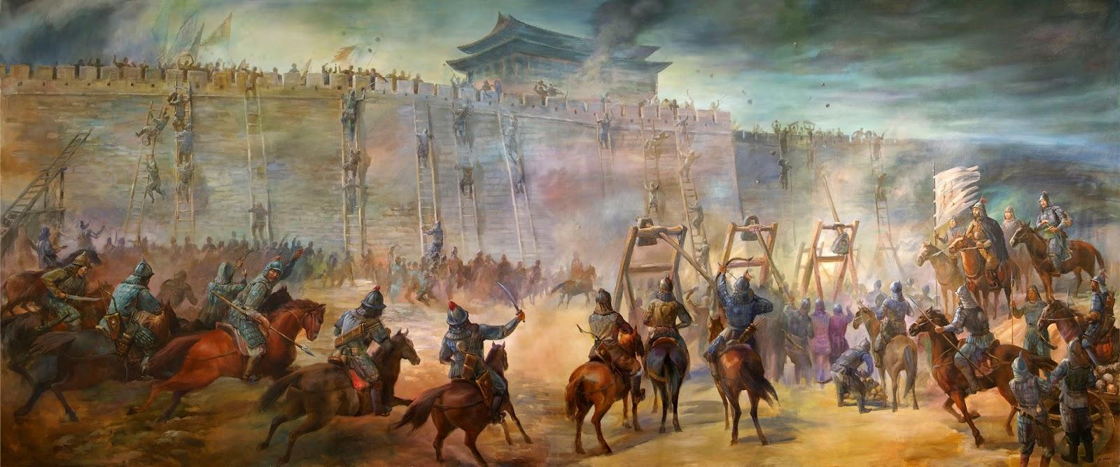 Ataque ciudad Genghis Khan