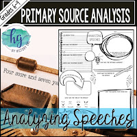 Thumbnail of Analyzing Speeches as  a Primary Source by History Gal