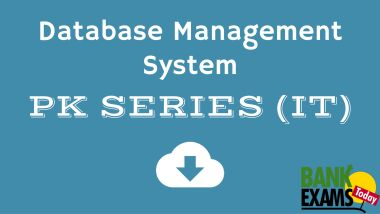 Introduction to Database Management System | BankExamsToday