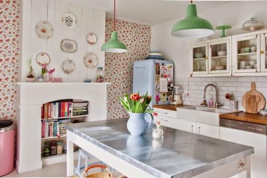 Nórdico, cottage y colores pastel