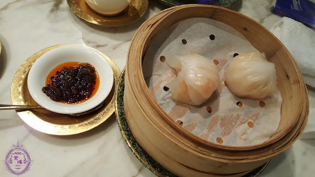 【水晶鮮蝦餃 – Shrimps Dumplings with Pork & Bamboo Shoot】