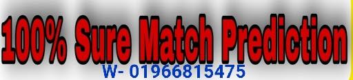 Cricket 100% surematchprediction. IPL 100% Sure Match Report.Today Match Prediction.