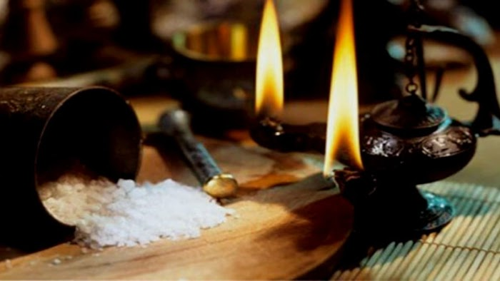 Ритуал с рисом, сахаром и солью на удачу