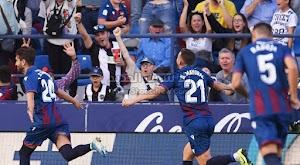 بهدفين لهدف نادي ليفانتي يحقق الفوز على فريق ريال مايوركا في الدوري الاسباني