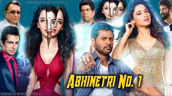 Abhinetri No 1 2018 Hindi Dubbed 720p HDRip 800mb