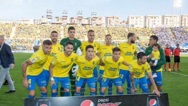 Once inicial de UD Las Palmas