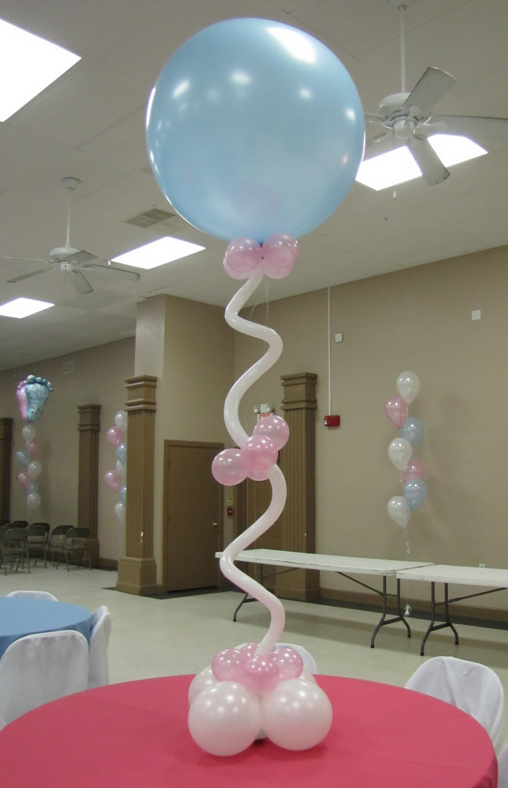 Baby Shower Balloon Decorations For Girl