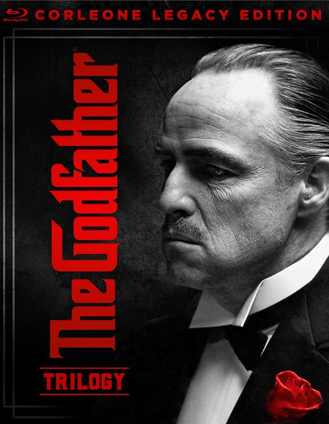 THE GODFATHER TRILOGY CORLEONE LEGACY EDITION Blu,ray
