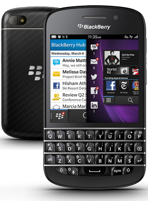 BlackBerry Q10 Pictures