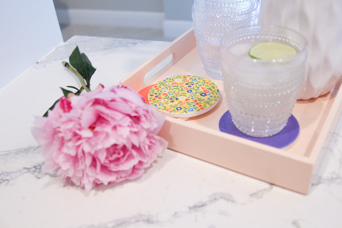 DIY Infusible Ink Coasters by The Celebration Stylist