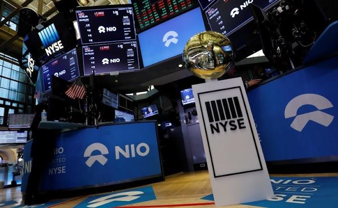 Las acciones de Nio se hunden en un gran volumen después de que los ADS aumentaran los precios con descuento