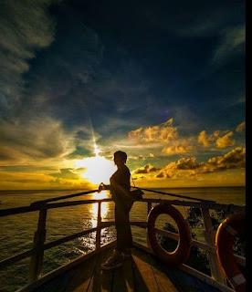 Sunset di Wakatobi