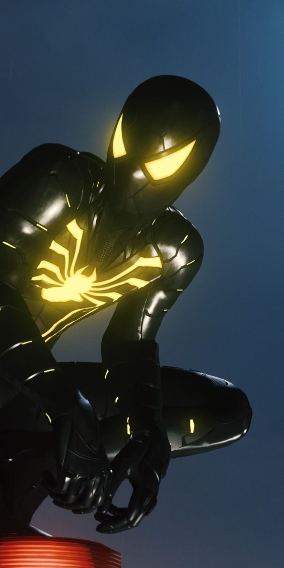 Spiderman hitam