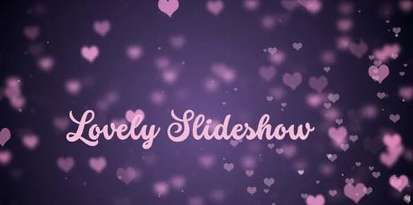 Lovely Slideshow Free Download After Effects Templates
