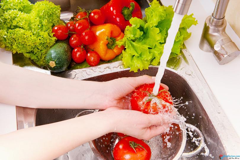 máy tạo ozone rửa rau quả