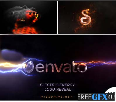 Energy Logo Reveals Pack 4 Aftereffect Logo Display Projects