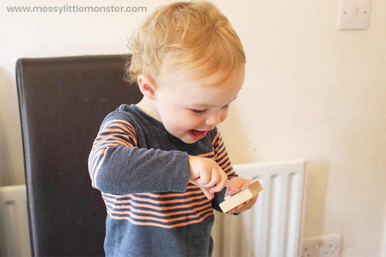 All about me toddler activity