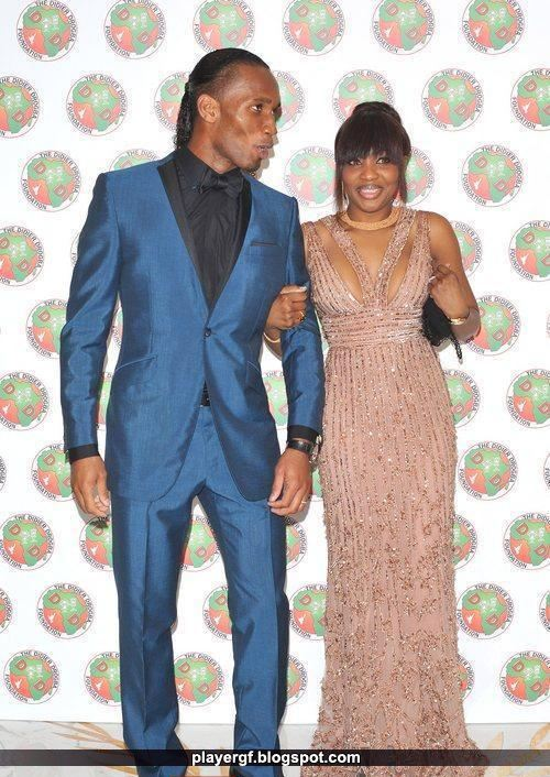 Drogba And His Wife