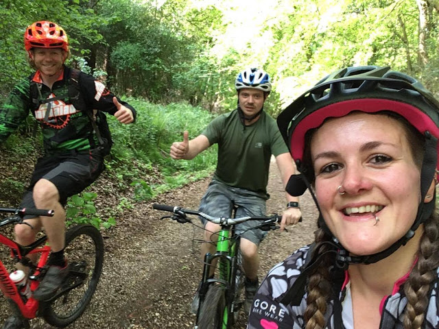 FitBits | Surrey Hills mountain biking with Marmalade MTB - 2017 year review - Tess Agnew fitness blogger