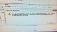 """Come correggere l'errore """"Impossibile installare Windows nel disco"""""""