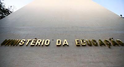 Prédio do Ministério da Educação (MEC) em Brasília. Café com Jornalista