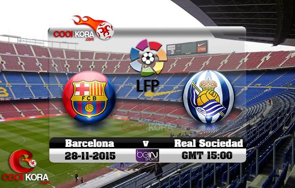 مشاهدة مباراة برشلونة وريال سوسيداد اليوم بي أن سبورت HD3